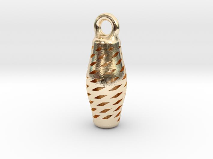 Turandot Earring precious metals 3d printed