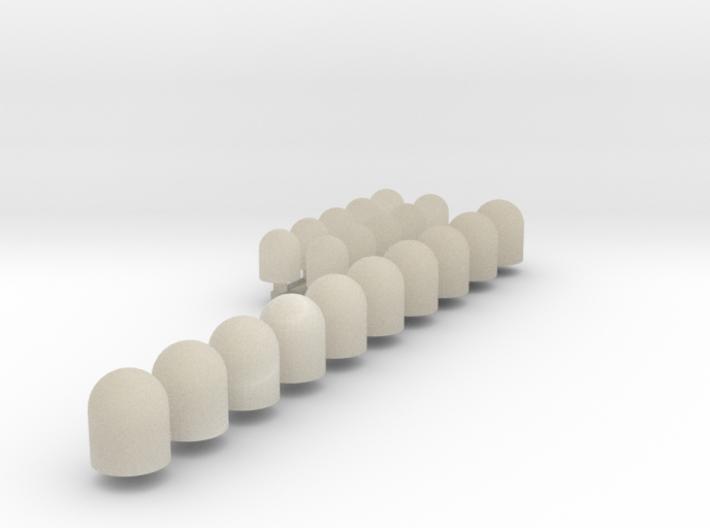 Sirena (x10) + Minisirena (x10) 3d printed
