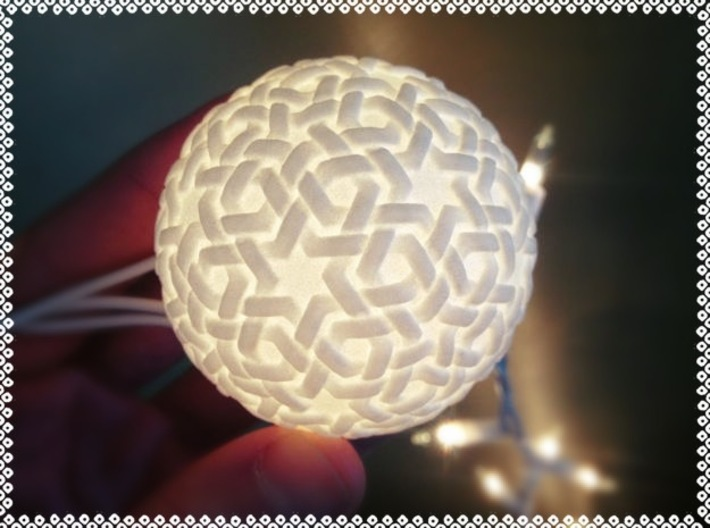 Double Woven Tea Lights 3d printed