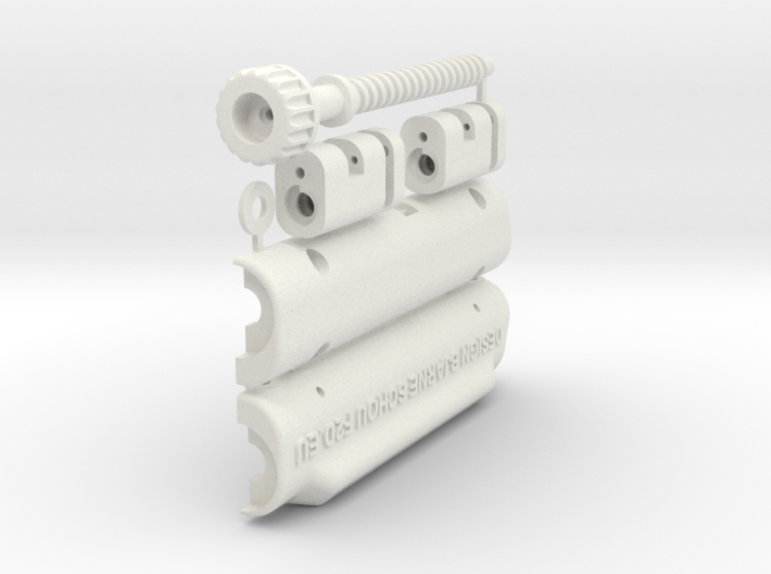 Control-Line Handle 80mm 3d printed