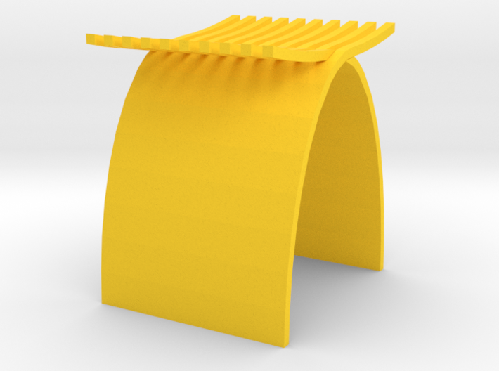 1:12 scale Capelli Stool 3d printed