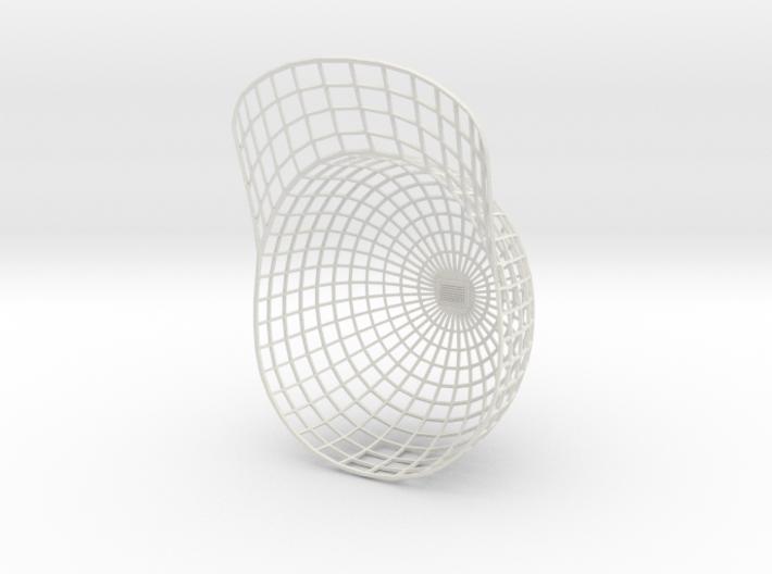 Vortex Hat - Large 3d printed