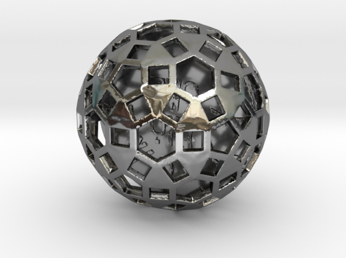 ZWOOKY Style 3417 - Sphere 3d printed