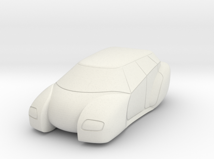 Hover Car 1/107 Scale model 15mm wargaming 3d printed