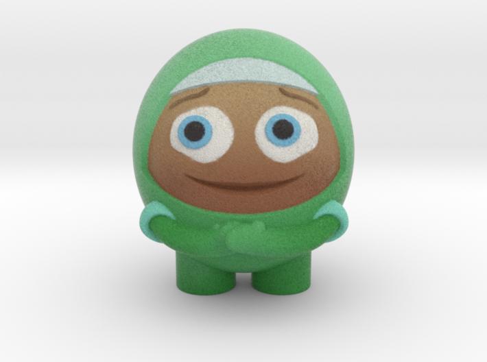 Green Test2LP 3d printed
