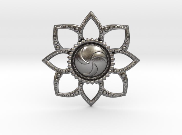Forest Medallion 3d printed