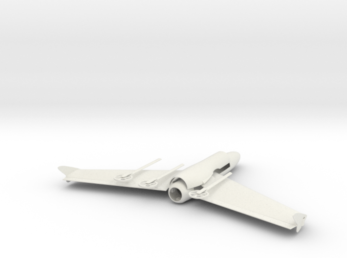 Mach 4 Micro Flying Wing 3d printed