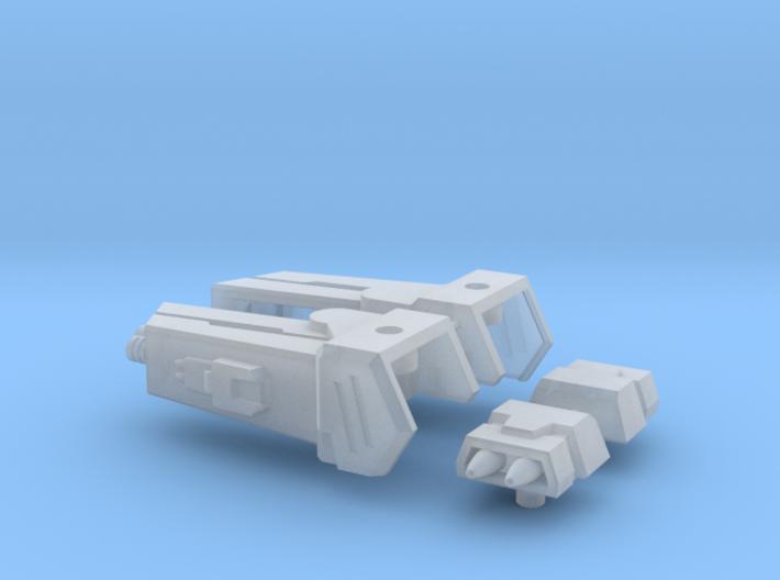 Enforcer Shoulder Cannons 3d printed