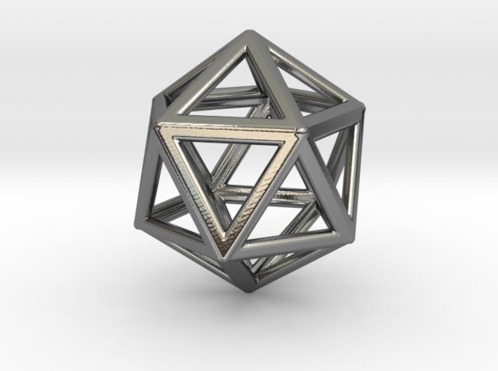 ICOSAHEDRON (Platonic) 3d printed
