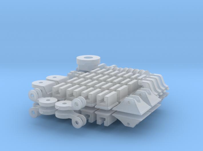1-16 T95 Hvy Tank FUD Small Parts 3d printed