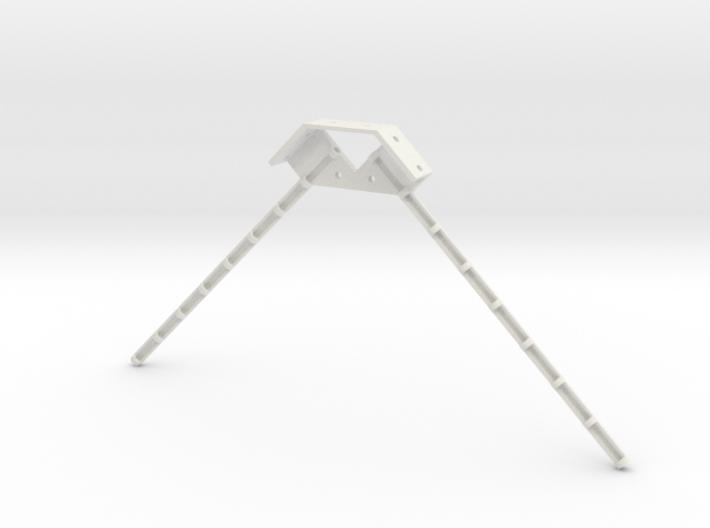 Dual Antenna Mount 3d printed