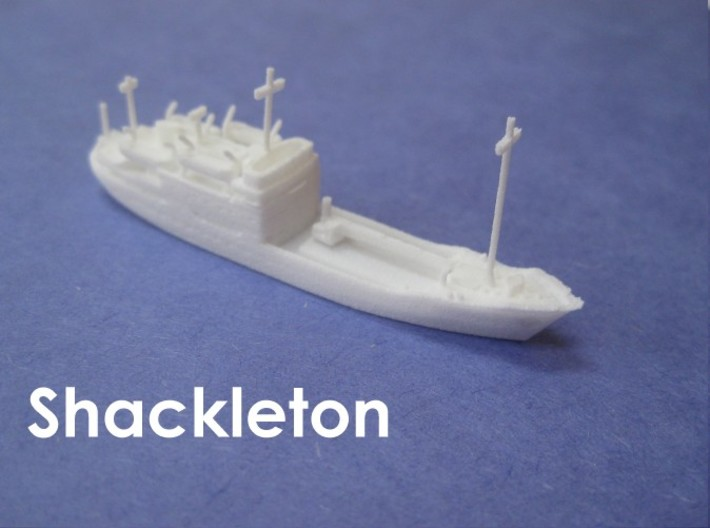 RRS Shackleton (1:1200) 3d printed