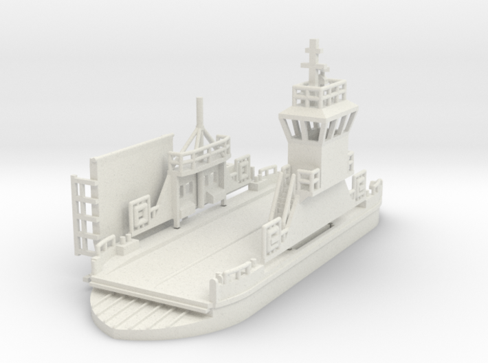 kleine Autofähre / Ferry - 1:160 (N scale) 3d printed