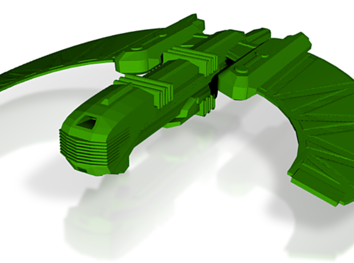 Romulan Rulok Class Heavy Cruiser 3d printed
