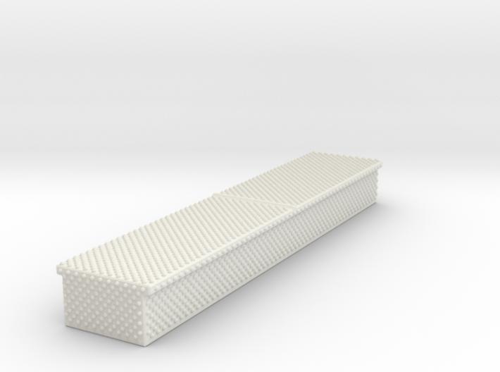 1/87 diamond plate storage box Medium 3d printed