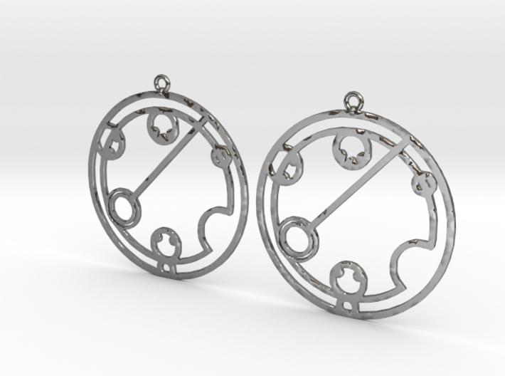 Katelynn - Earrings - Series 1 3d printed