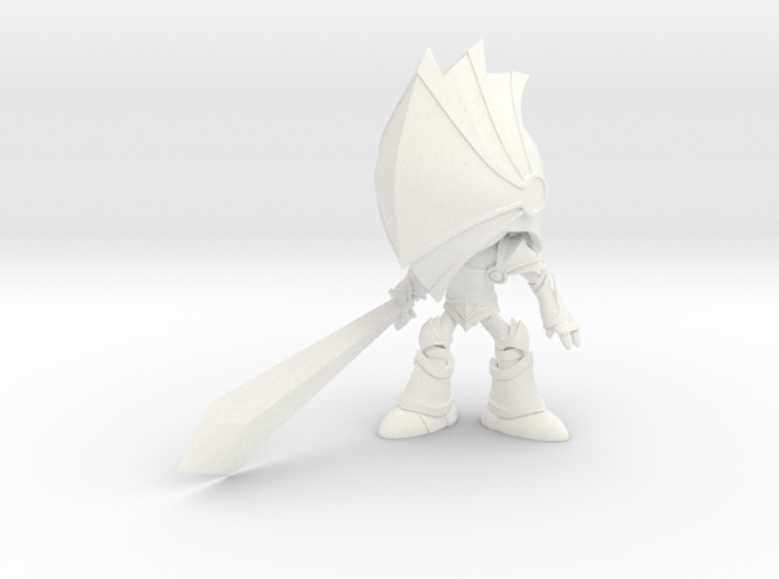 Blind Knight 3d printed