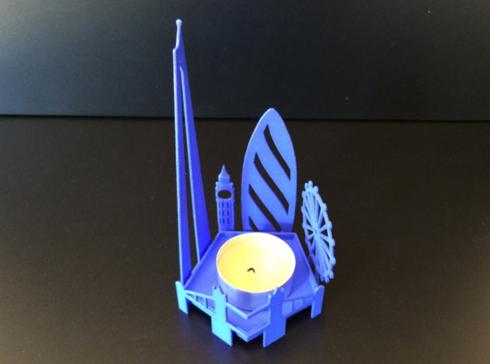 Tea Light London Skyline 3d printed