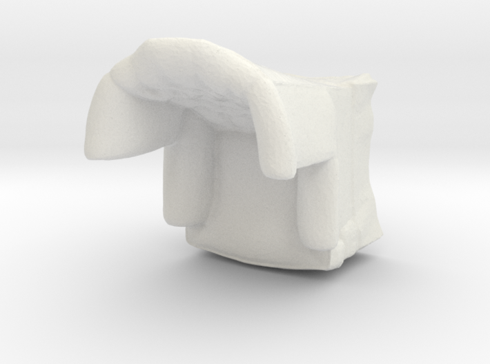 1:43 Tufted Armchair 3d printed