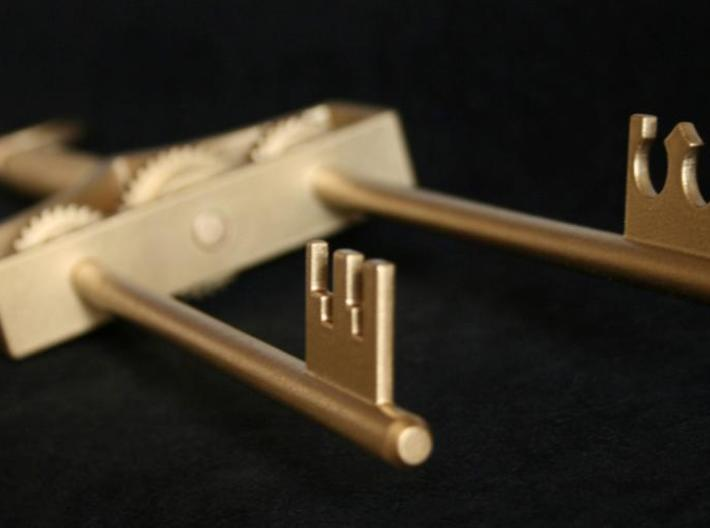 Willy Wonka Inventing Room Key (All Parts) 3d printed