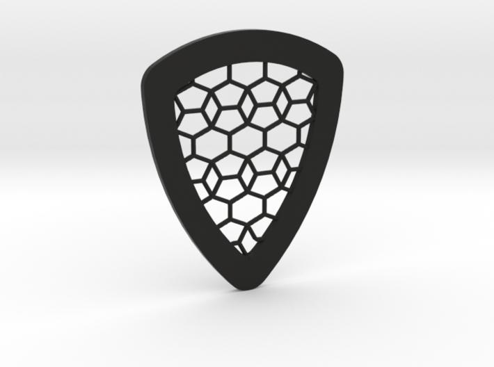 Tessellation Guitar Pick 3d printed
