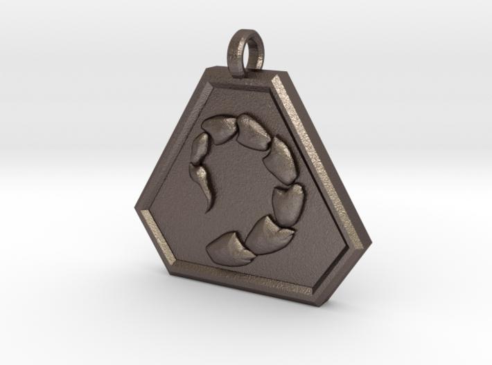 Brotherhood of Nod Pendant - Small 3d printed