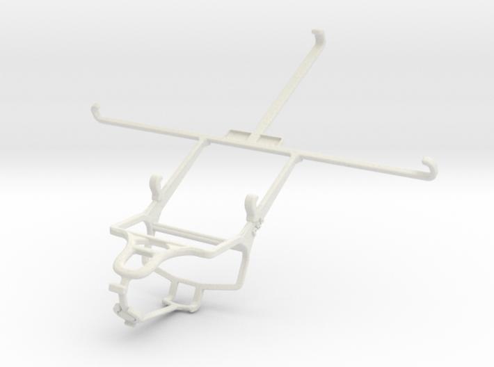 Controller mount for PS4 & Apple iPad mini Wi-Fi 3d printed
