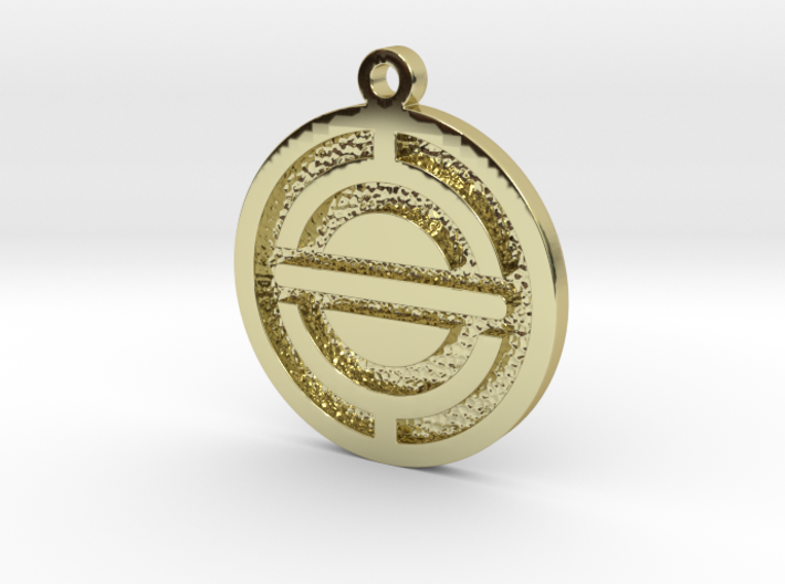 Spacecraft Pendant 3d printed