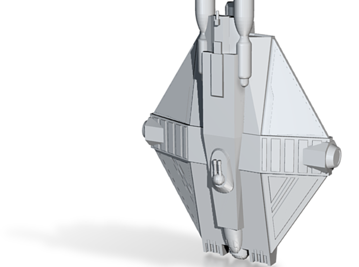 The Spectre - Space Freighter 3d printed