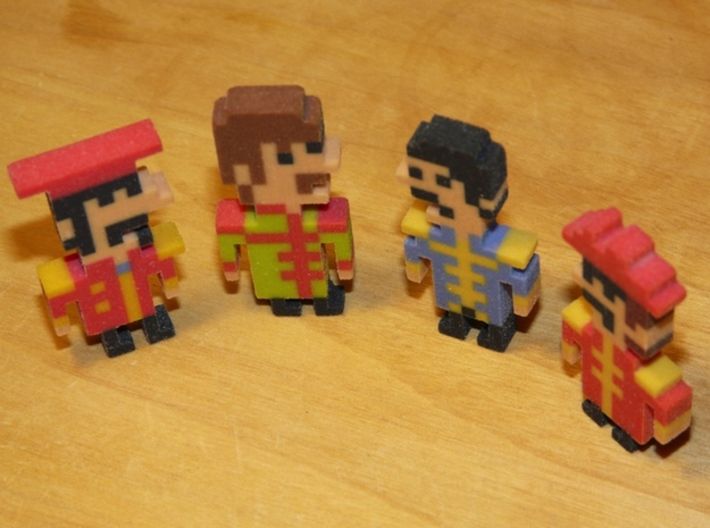 Beatles Ringo iotacon (Sgt. Pepper) 3d printed