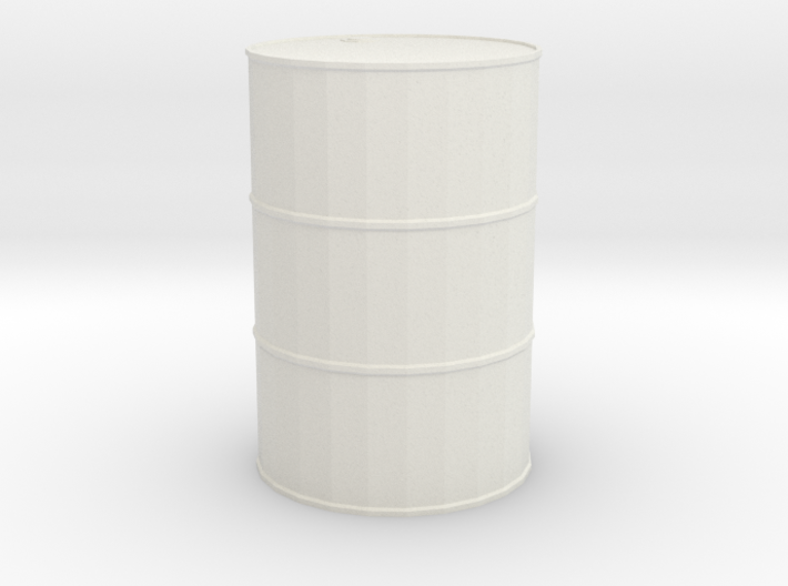 Single-barrel 1/29 scale 3d printed