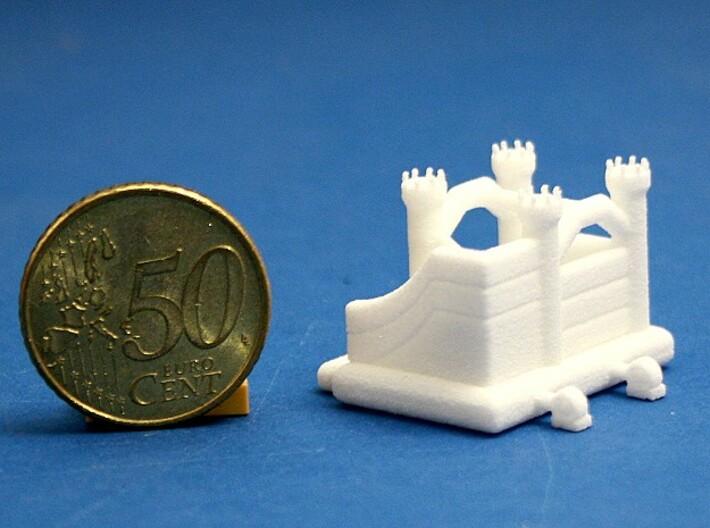 Hüpfburg 3 - 1:220 (Z scale) 3d printed