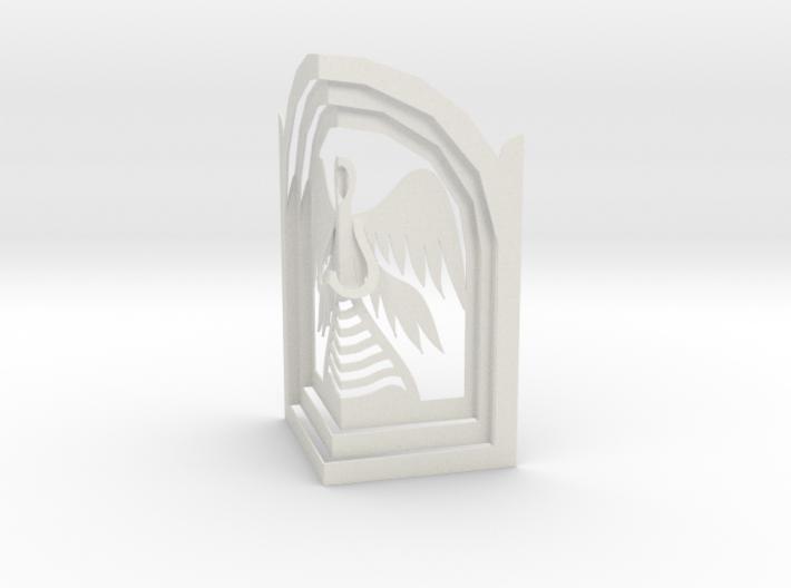Angel - Prayer in Kiosk 3d printed