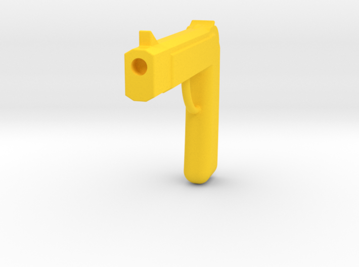 One Piece Fake Golden Pistols 3d printed