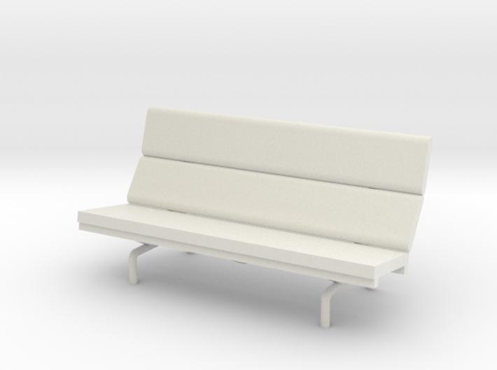 1:48 Eames Compact Sofa 3d printed