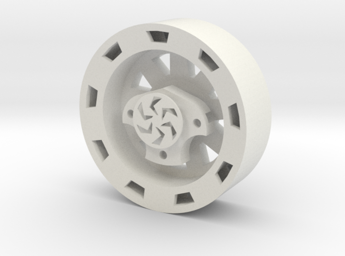 """Outrunner Wheel for AX4008 """"Star"""" 3d printed"""