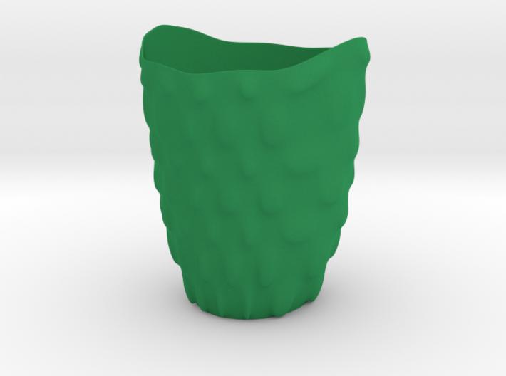"""Vase 'Bubbles' - 11cm / 4.30"""" 3d printed"""