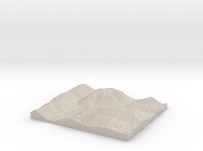 Model of Grays Run 3d printed