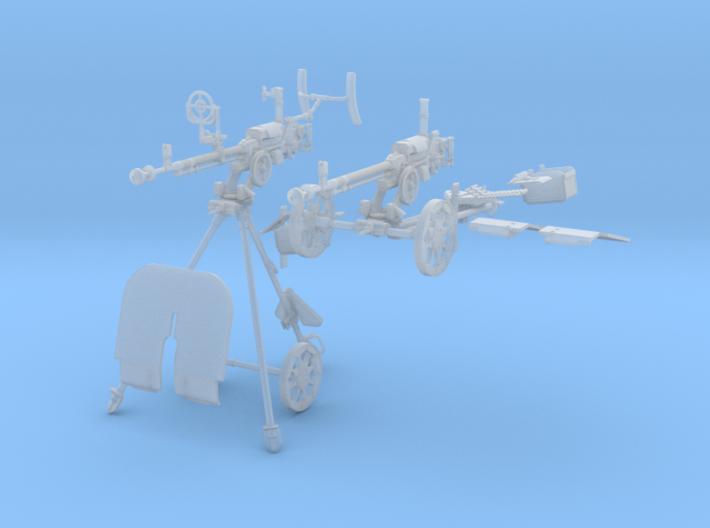 1-16 DSHK Dushka Wheeled + AA Tripod 3d printed