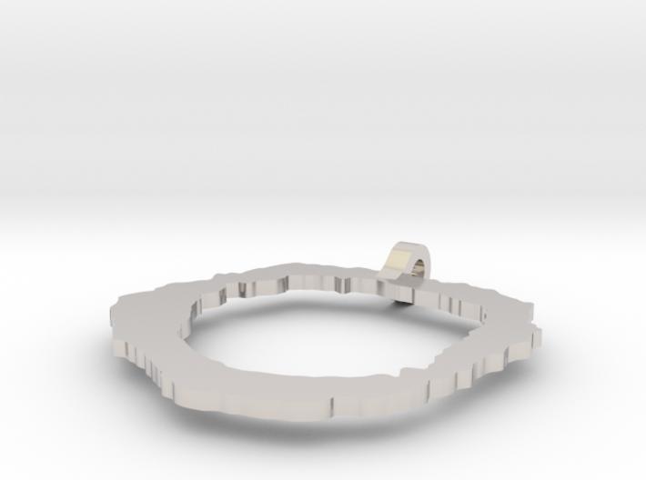 Vesuvius Pendant 3d printed