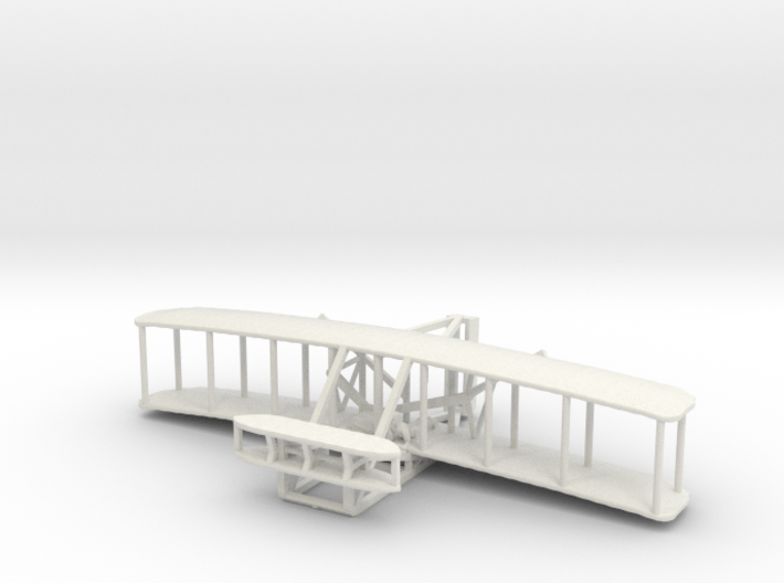 1903 Wright Flyer 3d printed