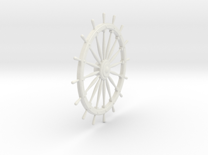 Ship's Wheel 3d printed