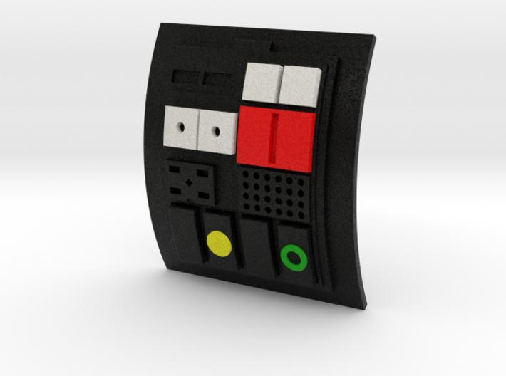 Comm pad - Crew 01 3d printed