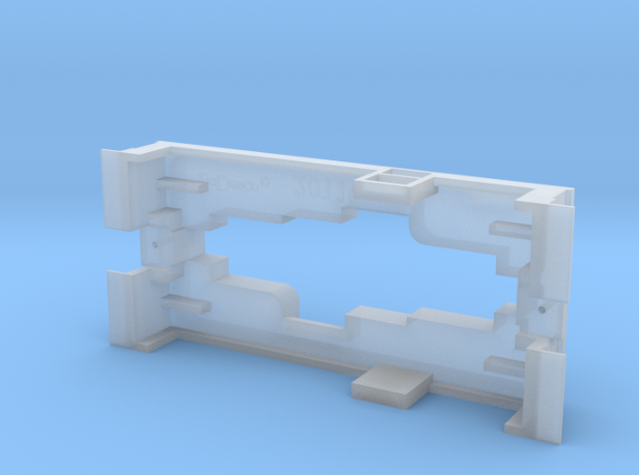 HOn30 bandai PLATFORMrev2 3d printed