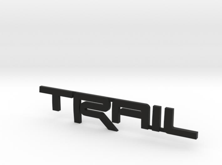 Trail Emblem - Single Print 3d printed