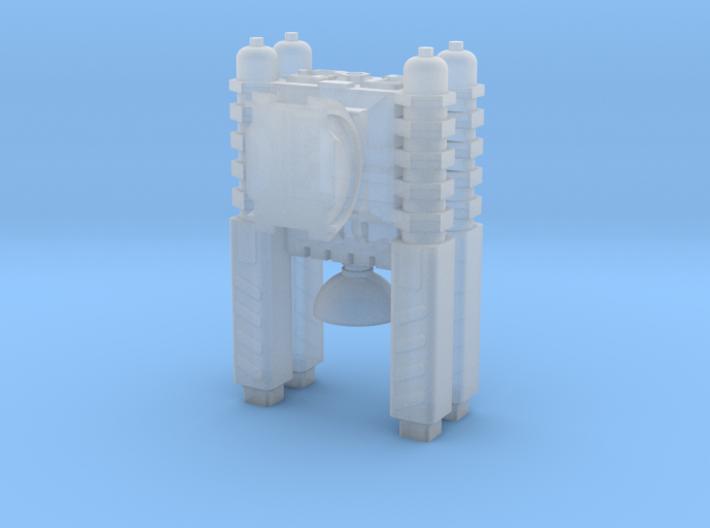 Quad Cannon Upscaled 2X 3d printed