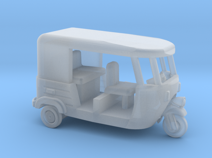 Auto Rickshaw / Tuk Tuk, N-Scale 1:160 3d printed