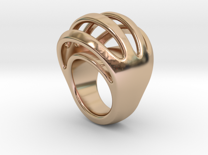 RING CRAZY 15 - ITALIAN SIZE 15 3d printed