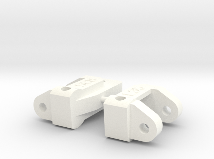 CPD 6215 35-degree RC10 Caster blocks 3d printed