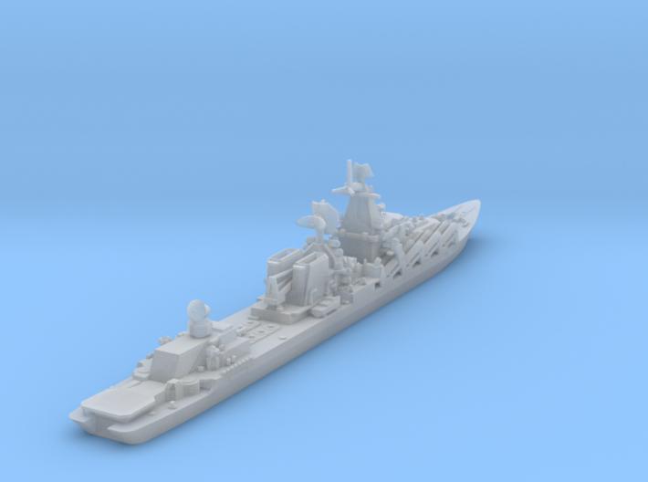 Slava Soviet Missile Cruiser - 1/1800 and smaller 3d printed